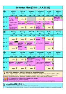 2021 Programm Sommerferien 1. Hälfte_Innen