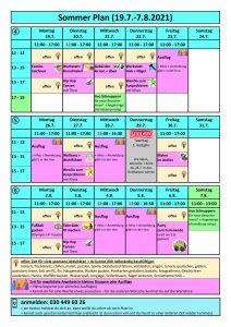 2021 Programm Sommerferien 2. Hälfte_Innen